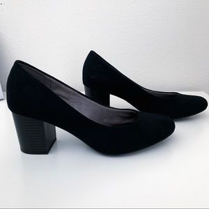 Small Block Heel Pumps